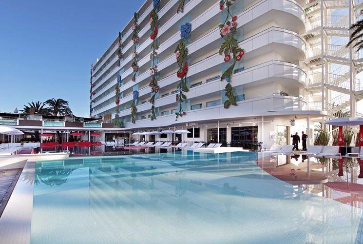 USHUAIA IBIZA BEACH HOTEL CLUB AND TOWER BUILDINGS